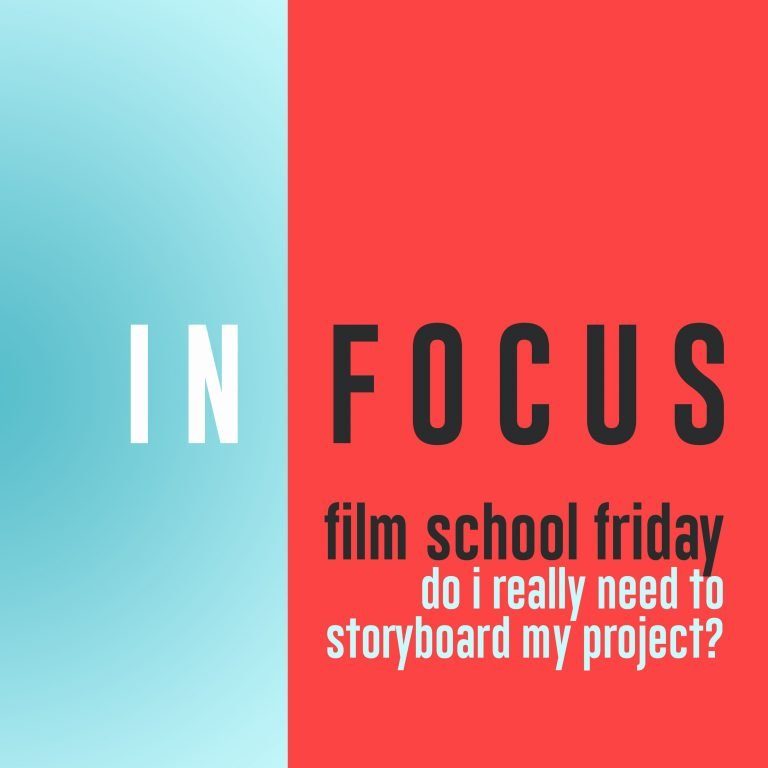 Read more about the article Film School Friday – Do I need to storyboard my project?